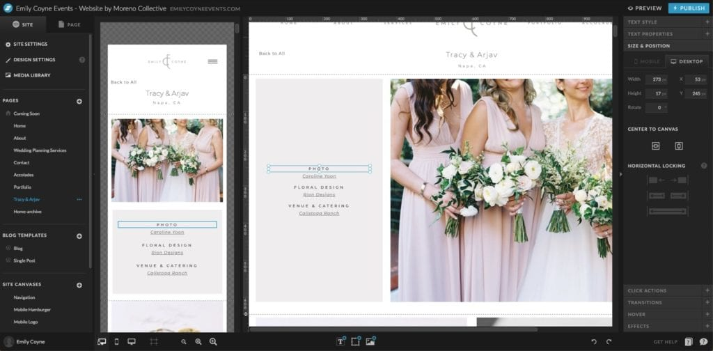 Showit drag and drop editor is better than WordPress