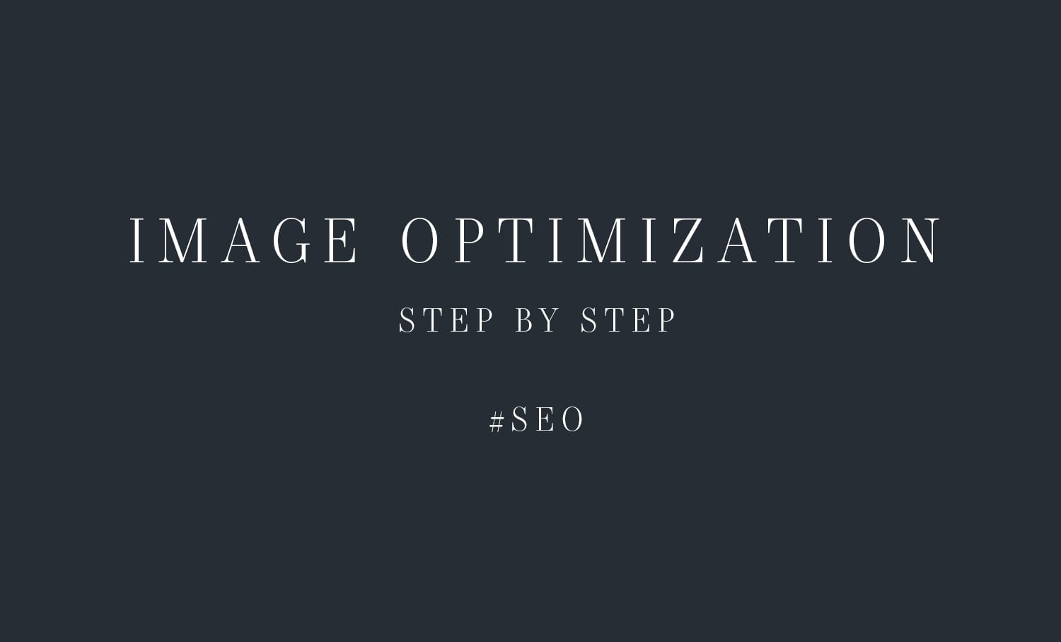 Image Optimization for showit and WordPress users - Moreno Collective