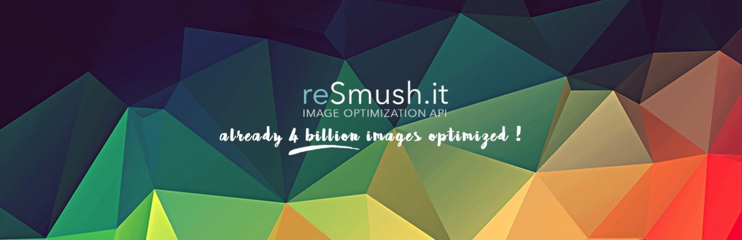 ReSmush.it plugin Image Optimization banner
