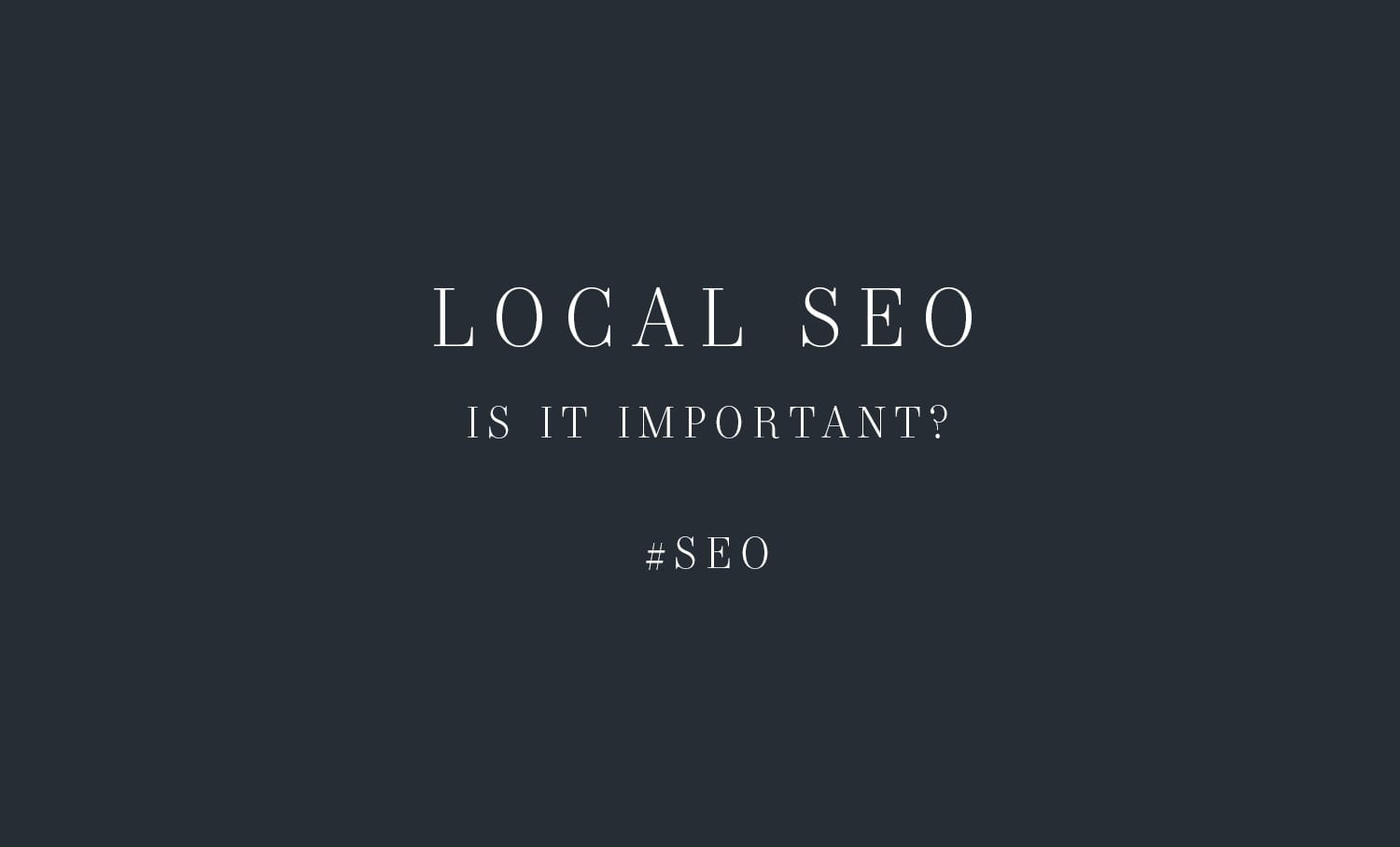 Local SEO for photographers - Moreno Collective
